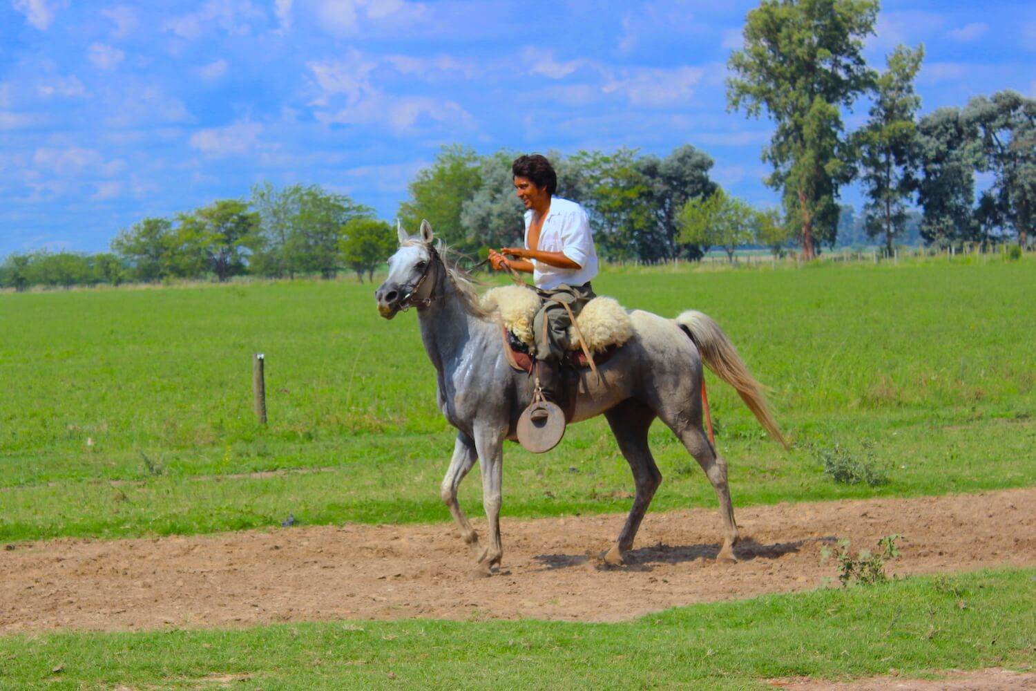 gaucho on horse