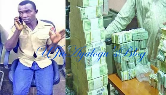 Security guard on N25,000 salary steals N24.4m, threatens boss with whistle-blowing