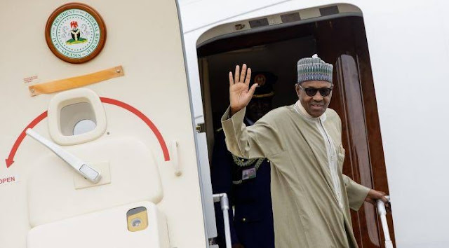 Buhari Jets Out Of Nigeria Monday