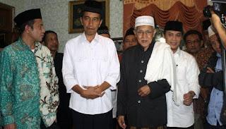 Jokowi Ajak Ulama Dinginkan Suhu Politik Pilkada Serentak 2018