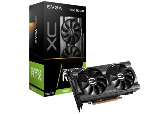 EVGA GeForce RTX 3060 12GB GPU