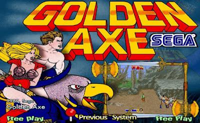 GOLDEN AXE ARCADE 4IN1 (ARCADE)