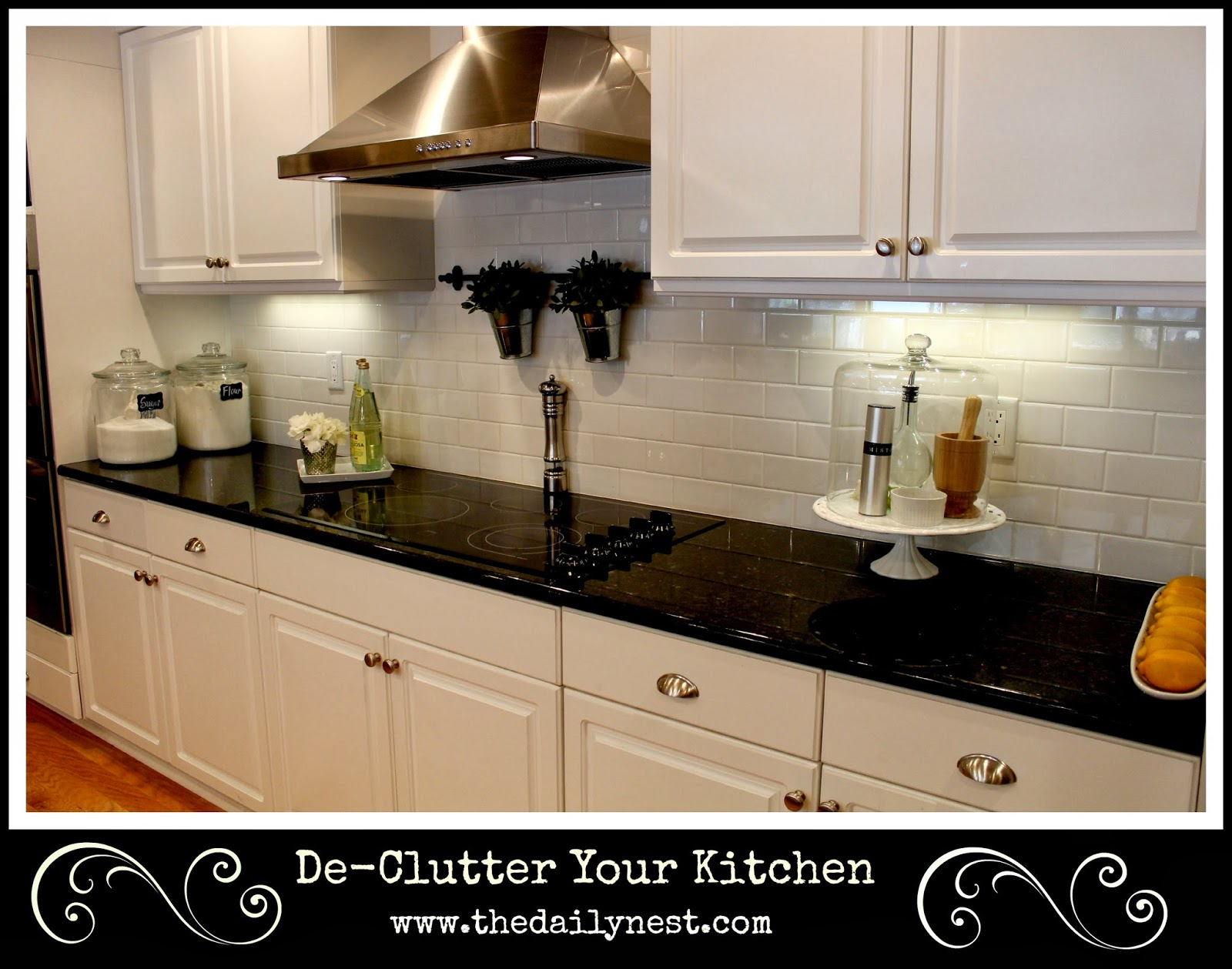 Clutter Free Kitchen Counters