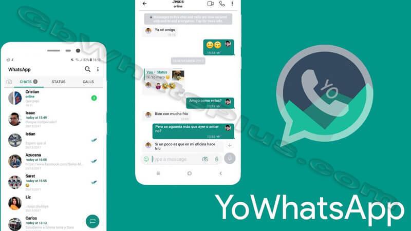 تحميل يو واتساب YoWhatsapp APK ضد الحظر تحديث جديد v9.10 2020
