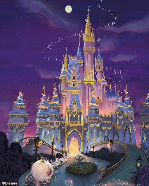 Imagineer-Zach-Riddley-Cinderella-Castle-50th-Anniversary-Designs-Art