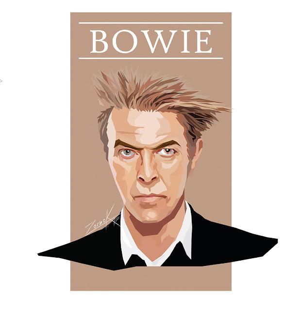 David Bowie - illustrator