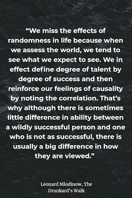 Top Quotes About Randomness The Drunkard's walk book