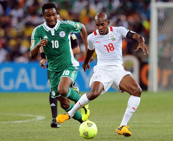afcon+kabore+and+mikel - Good moment of Super Eagles- Photos