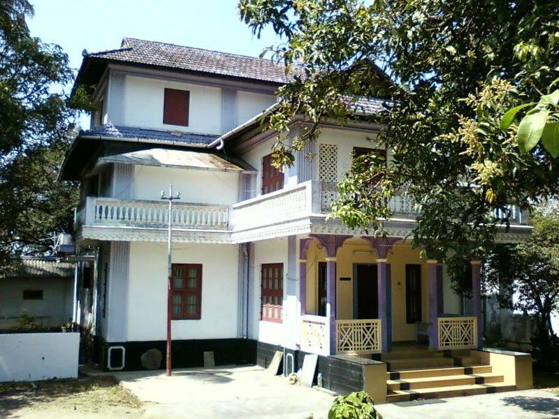 A Colonial Bungalow In Mettupalayam Street