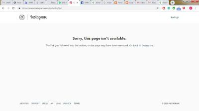 EXCLUSIVE!! Instagram Deletes Instablog9ja Page Over Homophobic Post.
