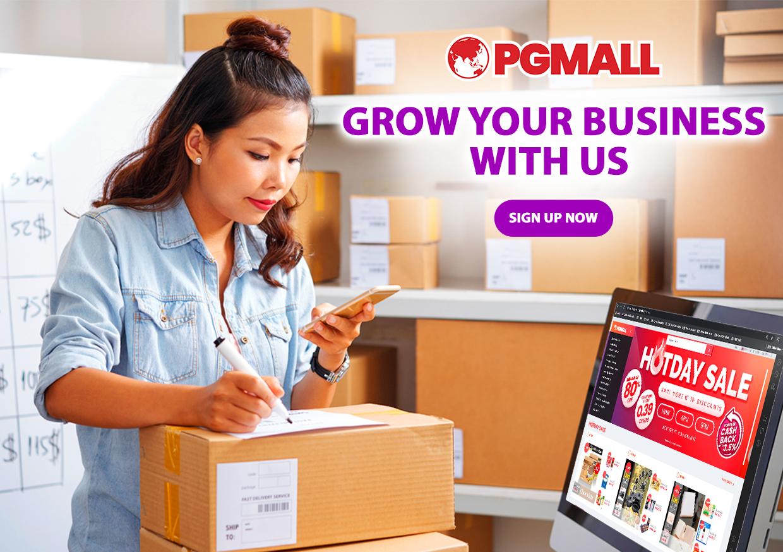 Jom Mulakan Perniagaan Dengan PG Mall. Laku Habis!