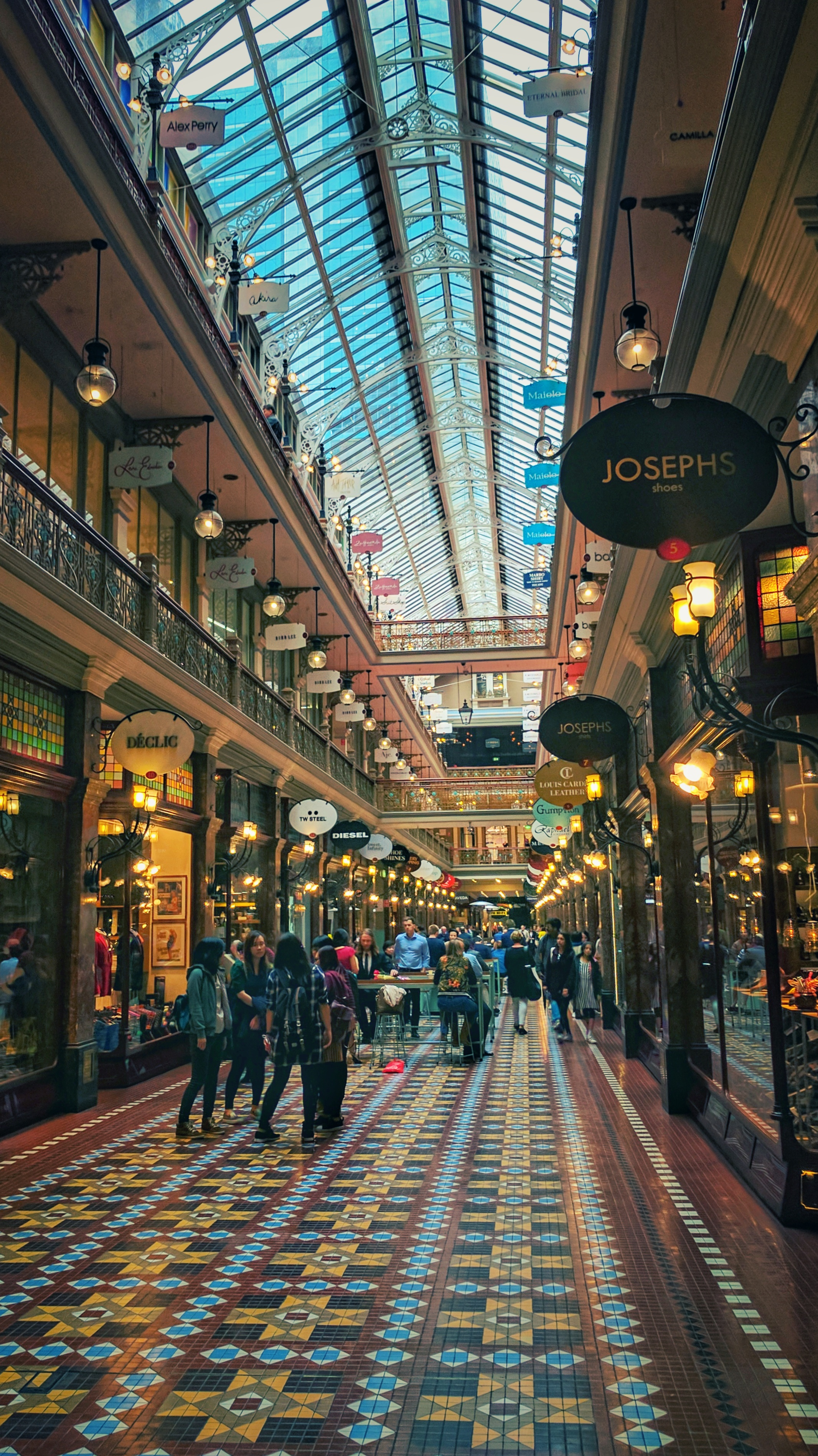 Yet another Sydney Victorian shopping mall
