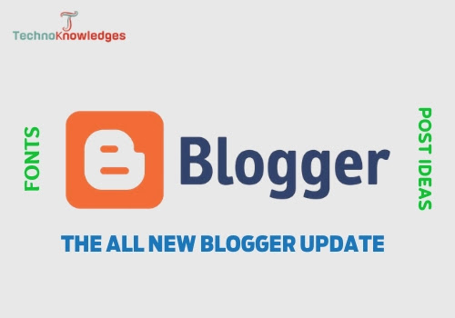 New blogger update 2020
