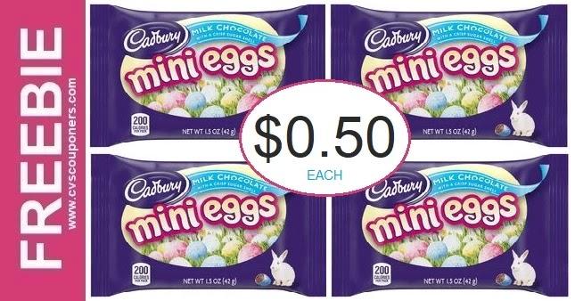 Cadbury Mini Eggs CVS Deals