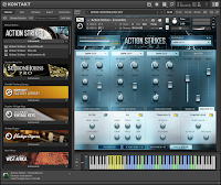 Action Strikes KONTAKT Library