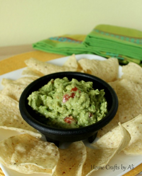 recipe guacamole mexican food cinco de mayo dip chips