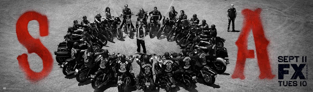 Sons of Anarchy Season 5 Teaser Television Banner