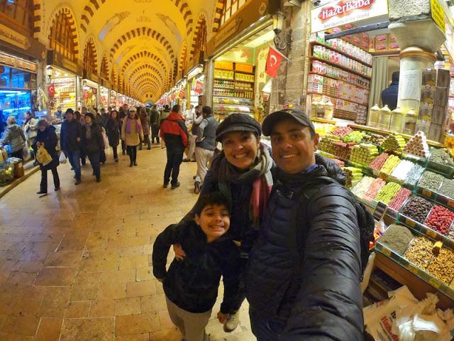 Compras em Istambul