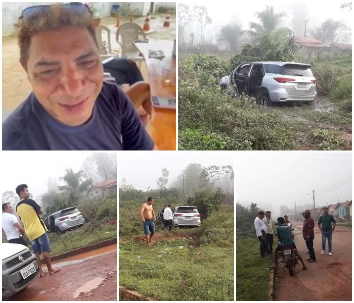 Blog do Gilberto Lima: Após ter casa invadida por bandidos, cantor milionário sofre acidente em Pinheiro