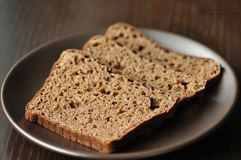 Chleb wileński - żytni, na zakwasie, z kminkiem.