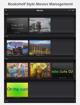 تطبيق cute cut pro لعمل فيديوهات خرافية للاندرويد والايفون 2020