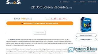 ZD Soft Screen Recorder gratuit !