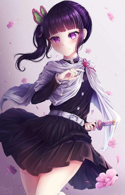 kanao tsuyuri kimetsu no yaiba kawai anime girl
