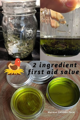 Infusing herbs in coconut oil