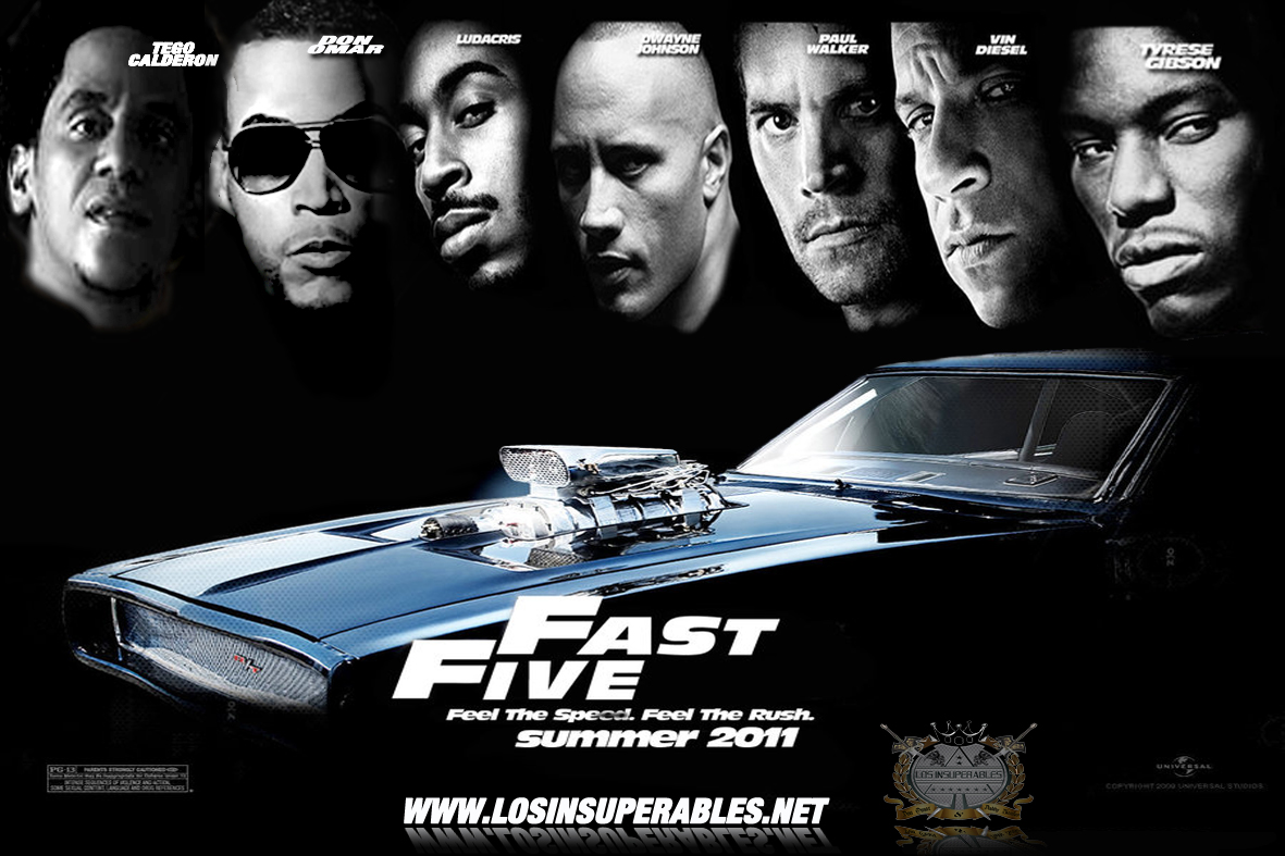 Amazon. Com: fast & furious 5 (2011) dwayne johnson; vin diesel.