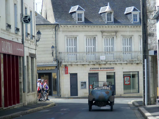 Cycle car, Indre et Loire, France. Photo by Loire Valley Time Travel.