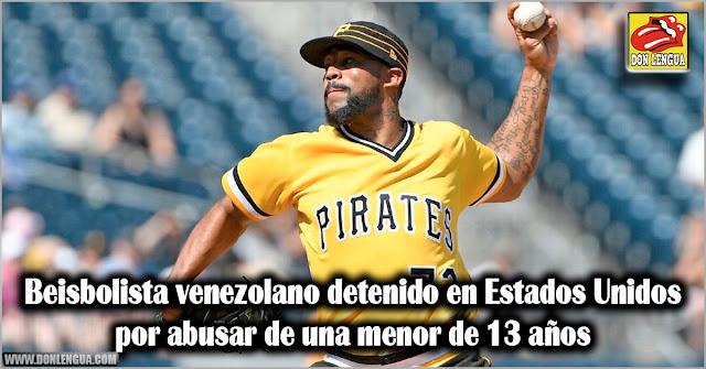 Beisbolista venezolano detenido en Estados Unidos por abusar de una menor de 13 años