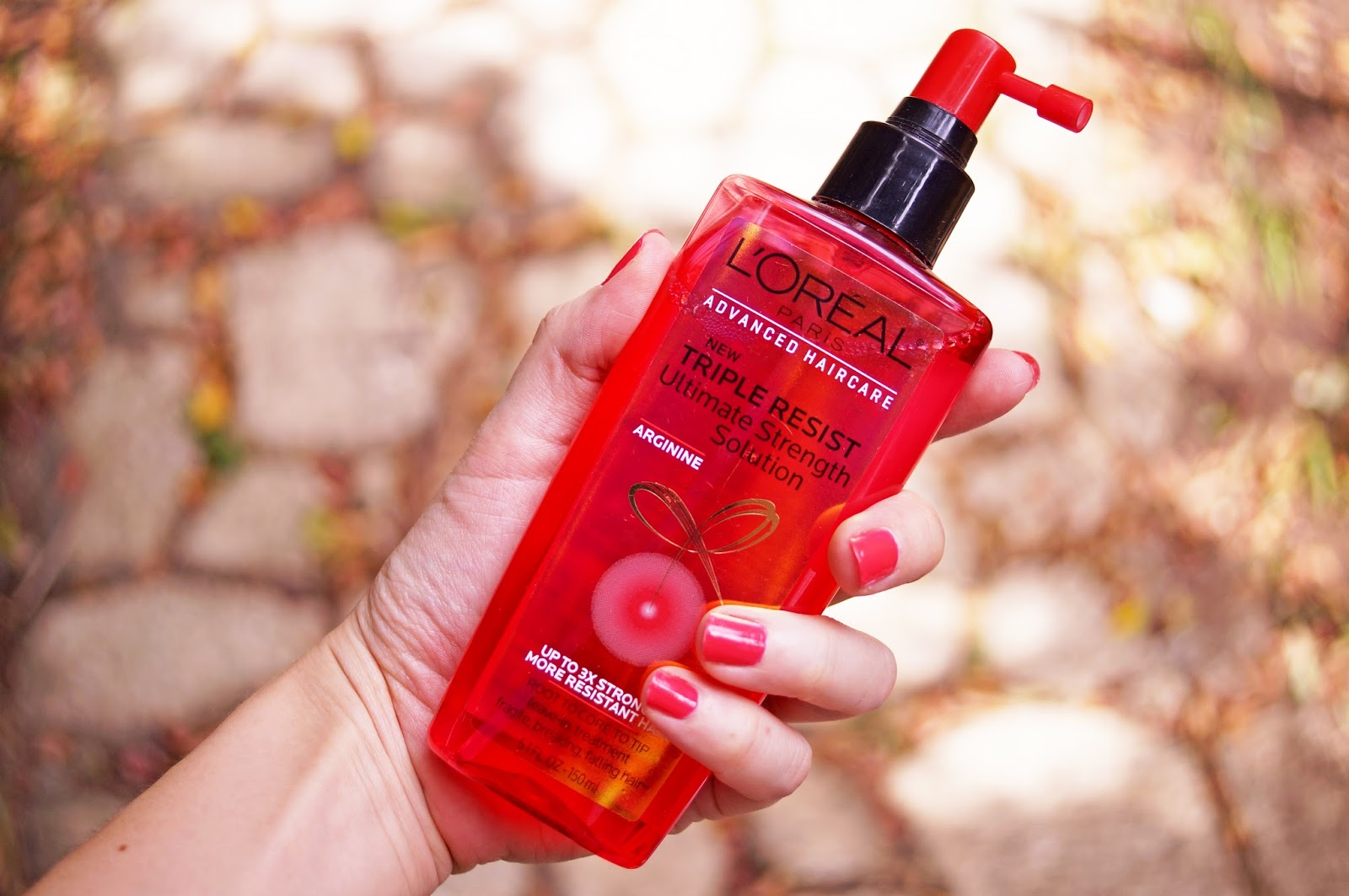 Click through for a review on the L'Oreal Triple Resist Ultimate Strength