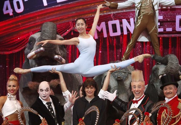 The 40th Monte Carlo International Circus Festival, Day 1