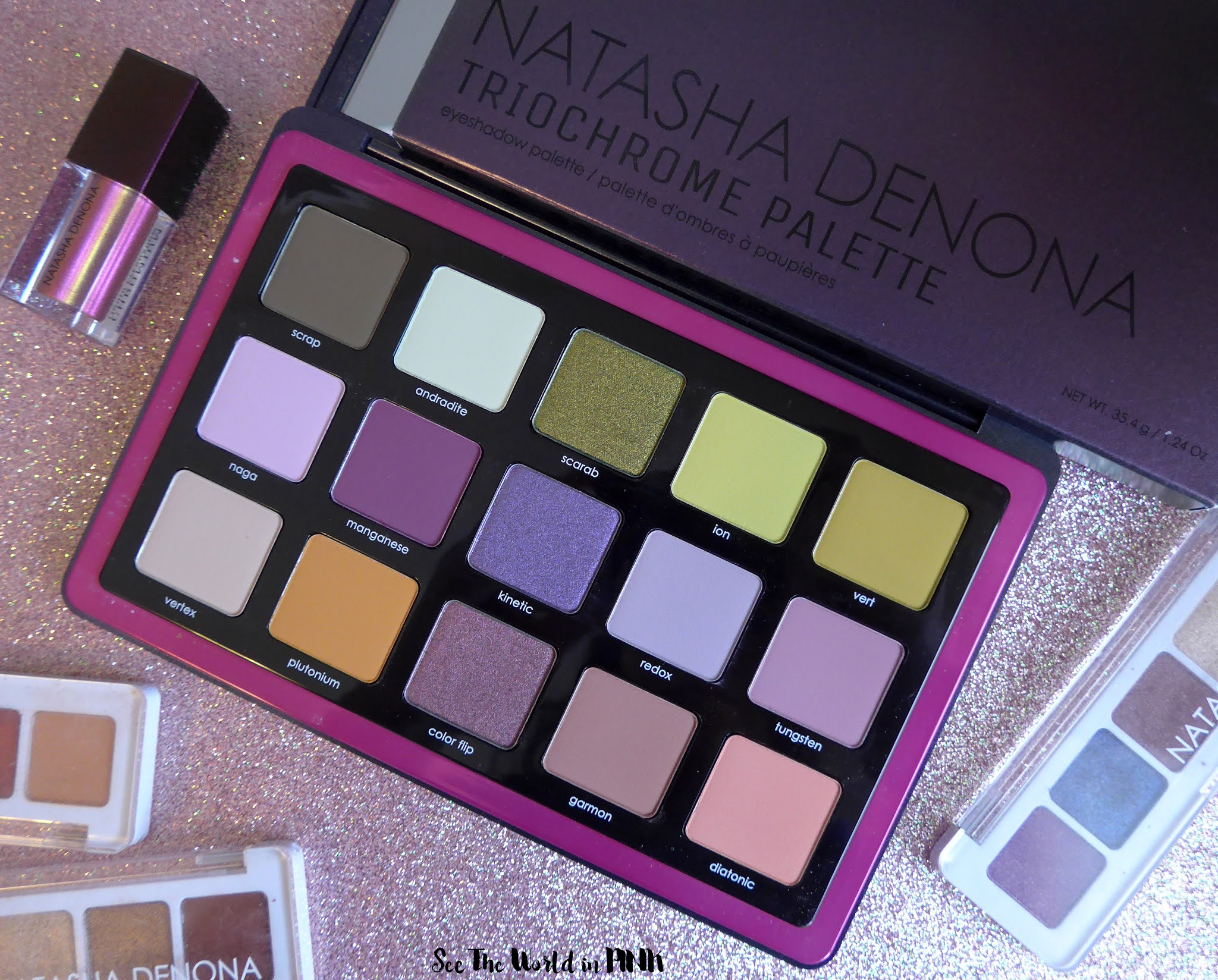 Natasha Denona Trichrome Eyeshadow Palette - 3 Makeup Looks, Swatches and Thoughts!