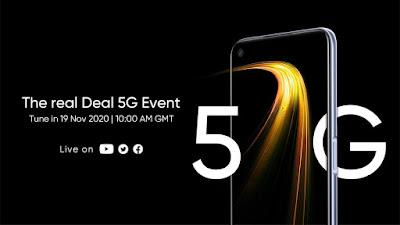 ريلمى تحدد ميعاد أطلاق هاتف Realme 7 5G