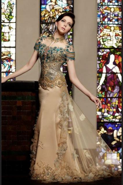 model gaun kebaya modern terbaru untuk ke pesta