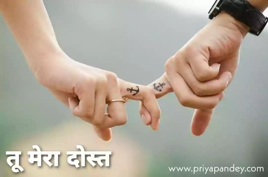 तू मेरा दोस्त | Tu Mera Dost Written By Priya Pandey Hindi Poem, Poetry, Quotes, कविता, Written by Priya Pandey Author and Hindi Content Writer. हिंदी कहानियां, हिंदी कविताएं, विचार, लेख.
