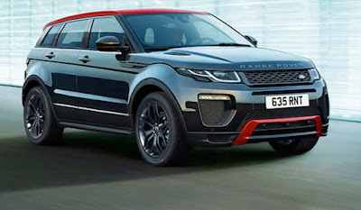 Range Rover Evoque Kerb weight 1,700 kg