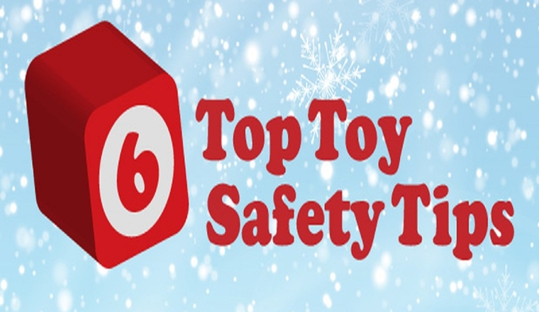 Six Top Toy Safety Tips #infographic