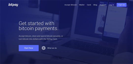 Accept Bitcoin payments on your website using BitPay