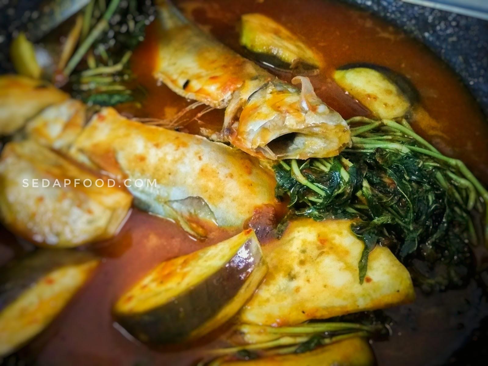 Resepi Ikan Kembong Masak Asam Pedas Kuah Sedap