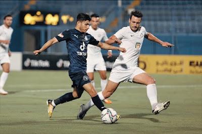 ملخص اهداف مباراة بيراميدز والبنك الأهلي (1-1) الدوري المصري