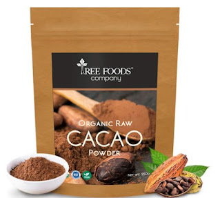 Tree Foods Company Organic Peruvian Raw Cacao Powder