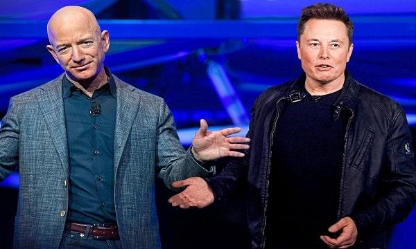 War Going on Between Jeff Bezos and Elon Musk,