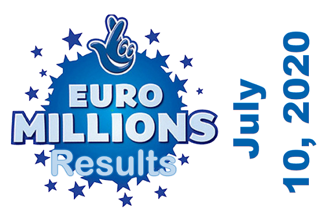 EuroMillions Results for Friday, July 10, 2020