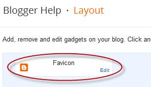 تغيير شعار Favicon بلوجر