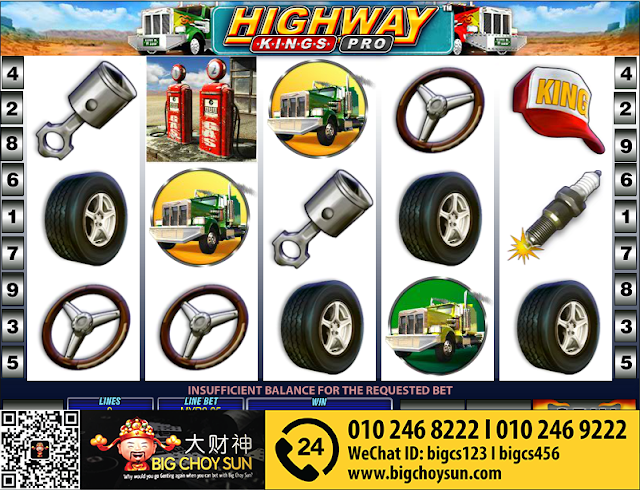 Highway Kings Pro 12Win Slot Game