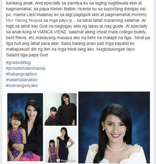 Viral story of a student nanay Vin-zyl Vicente