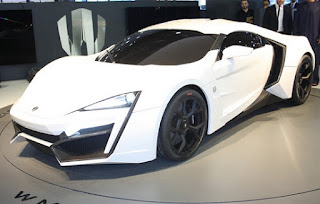 Lykan Hypersport Launched at 2013 Qatar Motor Show