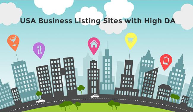 Top 40+ High DA USA Business Listing Sites 2019 for Instant